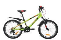 """Велосипед Novatrack """"Extreme"""", 20"""", зеленый"""