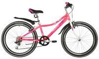 """Велосипед Novatrack """"Alice"""", 24"""" (розовый, размер рамы: 12"""")"""