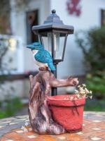 """Фонарь садовый """"Чудесный сад. Зимородок"""""""