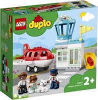 """Конструктор LEGO DUPLO """"Town. Самолет и аэропорт"""", 28 элементов"""