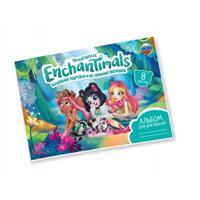 """Альбом для рисования """"Enchantimals"""", 8 листов"""