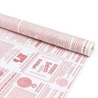 """Бумага крафтовая """"Новости"""", красный, 40 г/м2, 72 см x 10 м, арт. 84634"""