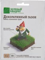 """Семена газона """"Зеленый квадрат. Декоративный"""", 30 г"""