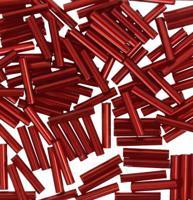 "Бисер TOHO ""Bugle"", 9 мм, 500 грамм, цвет: 0025D гранатовый"