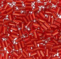 "Бисер TOHO ""Bugle"", 3 мм, 500 грамм, цвет: 0025C красный"