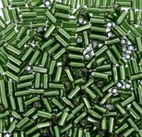 "Бисер TOHO ""Bugle"", 3 мм, 500 грамм, цвет: 0037 травяной"