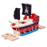 """Деревянная игрушка """"Пиратский галеон"""""""