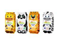 """Салфетки влажные SALFETI """"Smart animals"""", детские, с ромашкой и витамином Е, 50 штук"""