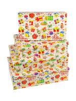 """Набор прямоугольных коробок 4 в 1 """"Новогодние подарки"""""""