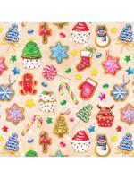 """Набор прямоугольных коробок 4 в 1 """"Новогодние сладости"""""""
