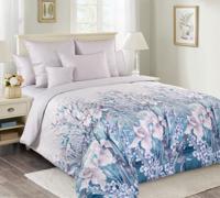 """Комплект постельного белья """"Ненаглядная 2"""", семейный, пододеяльник и наволочки на молнии, сатин (цвет: фиолетовый)"""