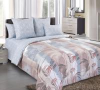 """Комплект постельного белья """"Пальмира 2"""", 1,5 спальный, перкаль"""