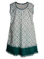 Сорочка женская (цвет: зелёный, размер: 64)