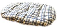 """Подушка для пластикового лежака Родные места """"Клетка"""" (размер 1), 45х33х5 см"""