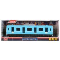Инерционный вагон метро, 27 см