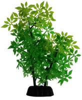 """Силиконовое растение для аквариума """"Homefish"""", с флюорисцентным эффектом (цвет: зеленый), 19 см"""