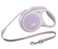 """Рулетка Flexi """"New Comfort"""" (цвет: розовый, 20 кг, трос 8 м), размер М"""