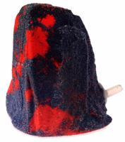 """Камень с аэратором для аквариума """"Homefish"""" (цвет: серо-коралловый), 7,5 см"""