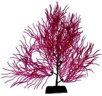 """Силиконовое растение для аквариума """"Homefish"""", с флюорисцентным эффектом (цвет: фиолетовый), 19 см"""