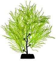 """Силиконовое растение для аквариума """"Homefish"""", с флюорисцентным эффектом (цвет: желтый), 19 см"""