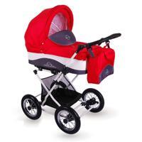 """Детская коляска 2 в 1 Lonex """"Julia Baronessa"""", цвет: красный"""