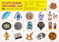 """Демонстрационный плакат А2 """"Народные промыслы"""""""