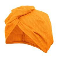 Вафельная чалма Банные штучки, цвет: оранжевый