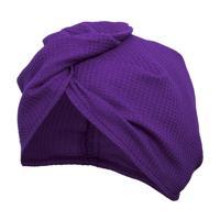 Вафельная чалма Банные штучки, цвет: фиолетовый