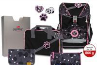 """Ранец """"Ergoflex Buttons. Розовая панда"""", с наполнением"""