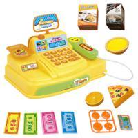 """Игровой набор Altacto """"Касса в супермаркете: выпечка"""", 21 см, цвет: желтый"""