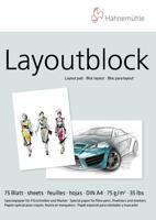 """Альбом для зарисовок комиксов и иллюстраций """"Layout Pad"""", А4, 75 листов"""