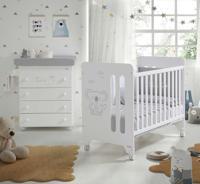 Кровать Micuna Koala, 120х60 см, цвет: white