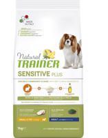 Сухой корм для взрослых собак мелких пород Trainer Natural Sensitive Plus, с кроликом и рисом, 7 кг