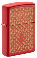 "Зажигалка ""Zippo. Flame Pattern"", 38x13x57 мм"