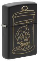 """Зажигалка """"Zippo. Skull Design"""", 38x13x57 мм"""
