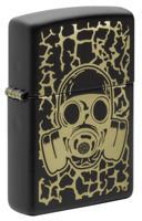 "Зажигалка ""Zippo. Skull Gas Mask"", 38x13x57 мм"