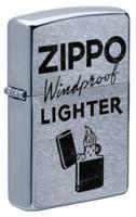 """Зажигалка """"Zippo. Windproof"""", 38x13x57 мм"""