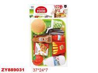 """Игровой набор """"Гамбургер"""" (5 предметов)"""