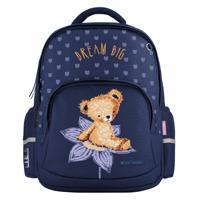 """Рюкзак с эргономичной спинкой """"Bruno Visconti. Медвежонок на цветке"""""""