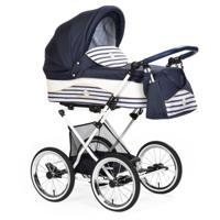 """Детская коляска 2 в 1 Lonex """"Julia Baronessa"""", цвет: blue sailor"""