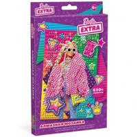 """Алмазная мозаика """"Barbie Extra"""", 10х15 см"""