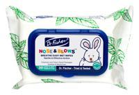 """Влажные салфетки для кожи вокруг носа для младенцев и детей """"Дыши свободно"""", 30 штук"""