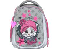 """Рюкзак школьный """"Ünni. Fashion Kitty"""", 38х30х18 см"""