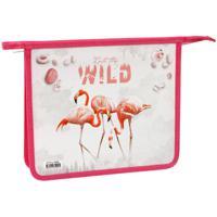 """Папка для тетрадей """"Flamingo"""", 2 отделения, А5"""
