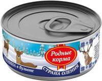 """Консервы для собак Родные корма """"Страна Оления"""" (оленина в бульоне), 100 г"""