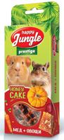 "Лакомство для грызунов Happy Jungle ""Prestige"", корзинки с медом и овощами, 3 штуки"