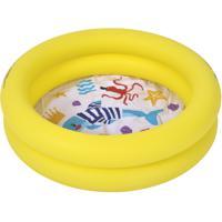 """Надувной детский бассейн Jilong """"Морская фауна"""", 76х20 см, 46 л, 2 кольца"""