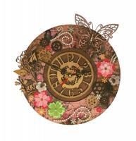 """Набор для вышивания бисером Нова Слобода """"Цветочное время"""", 28х28 см, арт. РТ7001"""