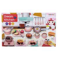 """Набор посуды с продуктами INBEALY """"Завтрак всей семьёй"""", 47 предметов"""