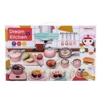 """Набор посуды с продуктами INBEALY """"Обеденный перерыв"""", 59 предметов, со световыми и звуковыми эффектами"""